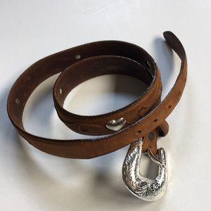 EUC Cabela's leather belt